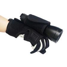 Regolabile Dive luce titolare Guanto per immersioni subacquee Torcia Torcia Keeper