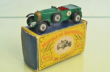 "C346 Matchbox ""MOY"" Y-5 1929 Bentley 4.5 Litre A/c"