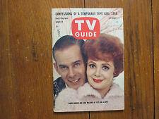 July-1961 TV  Guide(PETE AND GLADYS/HARRY MORGAN/CARA WILLIAMS/HERSCHEL BERNARDI