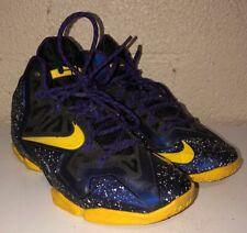 Nike Mens Purple/Yellow Basketbal Shoes Size 7 GRADY KIRBY