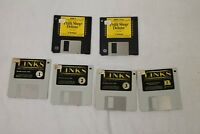 """Links: The Challnege of Golf Game & Print Shop Deluxe Disc 2 3 3.5"""" Floppy Disk"""