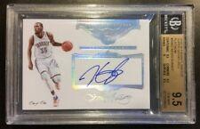 "2015-16 Flawless Kevin Durant ""Super Signatures"" Auto SP# 1/1 BGS 9.5 gem mint"