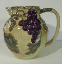 "NOBLE EXCELLENCE ""MERITAGE"" LARGE 96 OZ. PITCHER - EXCELLENT"