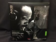 NIB AKG Q701 Quincy Jones Signature Black/ Lime Premium Class Headphones FS