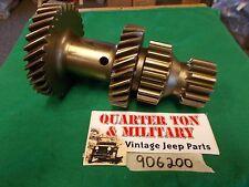 Jeep Willys CJ2A CJ3A M38 M38A1 T90 transmission cluster gear 906200