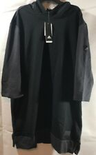 Adidas Basketball League 3/4 Sleeve Hoodie Large Black AX8412 Harden NEW