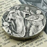 2018 2 oz .999 Silver Coin - John the Baptist - Biblical Coin Series #A493