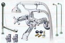 Chrome Clawfoot Tub Faucet Package Kit KS265C Package CCK265C