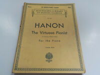 Schirmer's Library of Musical Classics Vol 925 Hanon 60 exercise for Piano