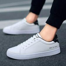 Zapatos Blancos Para Hombre Moda Casual Zapatillas De Primavera Deporte Elegante