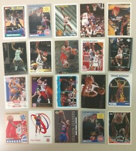20 Card Lot of Different DENNIS RODMAN HOF A must for any collector! FREE S&H!!