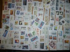 40 grams mixtures Greenland stamps on single paper kiloware