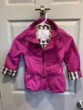 Burberry Coat Jacket Wind Breaker - Kids Size 8 - AUTHENTIC - NWOT