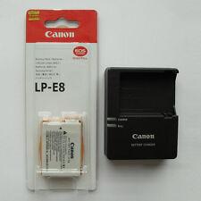 LP-E8 Battery & LC-E8C Charger For Canon 550D 600D 650D X4 X5 X6 T4i T3i T2i