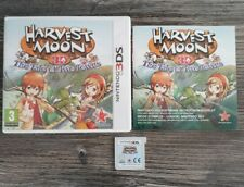Harvest Moon 3D The Take Of Two Towns Boxed Instructions Nintendo 3DS PAL Tested