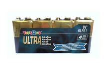 9V Battery Ultra Alkaline (x4 in a pack) 6LR61Brand New