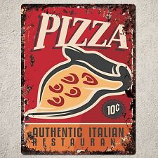 PP0153 Vintage PIZZA Sign Home Kitchen Shop Cafe Restaurant Interior Decor Gift