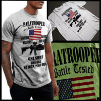 Army Airborne T-Shirt Air Assault Paratrooper Veterans Day Military Combat Vet