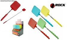More details for extendable fly swatter new telescopic insect swat bug mosquito wasp killer house