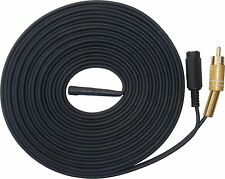 Sensitive High Gain Microphone With 30 Metre RCA Output for CCTV DVR Audio Input