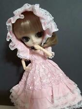 Cute Pink Handmade Blythe Dal Byul Doll Outfit Pullip Dress Azone Lolita **