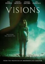 Visions (DVD) Isla Fisher, Anson Mount, Gillian Jacobs NEW