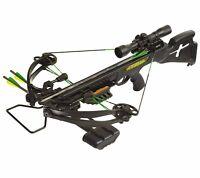 New 2016 PSE Fang 350 Crossbow 4x32 Scope Package Black Model# 01246BK