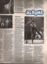 PETER HAMMILL  Black Box review 1980 UK ARTICLE/clipping Van Der Graaf Generator
