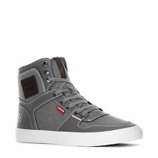 LEVIS MASON 501 HI ATHLETIC SPORTS SNEAKER MEN SHOES CHARCOAL/BROWN SIZE 12 NEW