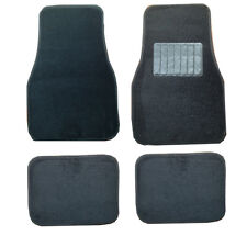 Volvo S40 S60 850 940 960 C30 C70 Black Universal Cloth Carpet Car Mats Set of 4
