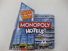 2012 MONOPOLY HOTELS The Fast-Dealing Property Trading Game FACTORY SEALED !!