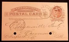 1886, Merchants & Manufacturers National Bank, Middletown N. Y Post Card