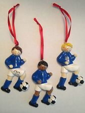 Personalized Soccer Boy Sports Christmas Ornament