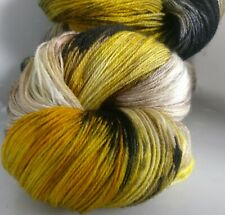 200g OF 3-PLY HAND-DYED 100% KNITTING WOOL* 2 SKEINS