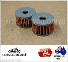 Oil Filters for Suzuki DR650 DR600 DR500 DR 650 Twin Pack Filter 600 500