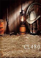 3X5FT Western Cowboy Gun Vinyl Photography Backdrop Photo Background Studio Prop