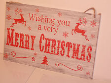 Christmas sign shabby vintage chic Christmas wooden plaques.HOUSE,OFFICES,RETAIL