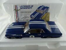 1:18 Classic Carlectables 1965 Mustang Norm Beecheys Neptune Racing Team #4  #