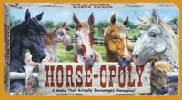 HORSE-OPOLY Board Game Horse Monopoly Late For The Sky 2-6 Players Age 8+
