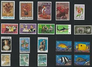G641 Maldives./ A Small Collection Early & Modern Umm & Lhm