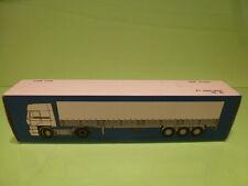 LION CAR 80 DAF TRUCKS FT 3300 TRAILER - 1:50 GOOD - * ONLY EMPTY BOX * (8)