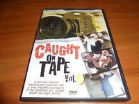 Caught on Tape Volume 2 (DVD, Full Frame 2002) Shockumentary Used OOP