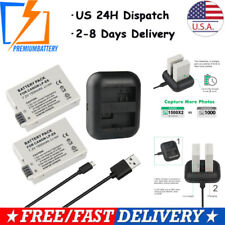 Dual LP-E8 Battery for Canon EOS T2i 550D LPE8 DSLR With Cable Charger
