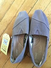 Toms Classic Canvas Womens Slip-On Shoes Authentic