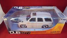 Jada Toys DUBCity Big Ballers 1:18 scale Cadillac Escalade white MIB