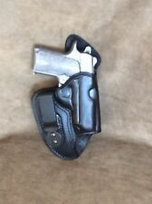 Kimber Micro 380 IWB Leather Holster by ETW Holsters...Hickory, NC