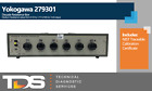 [USED] Yokogawa 279301 Decade Resistance Box + NIST Calibration Certificate
