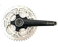 Torq Alloy Triple 42//34//24T Crankset Square 172.5mm Silver MTB Mountain Bike