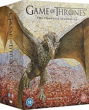 GAME OF THRONES COMPLETE SERIES SEASON 1 2 3 4 5 6 DVD BOXSET 30 DISC NEW! 1-6