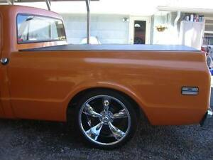 1967-72 Chevy/GMC C20 8' Long Bed Hatch Style Tonneau Cover by Craftec Covers
